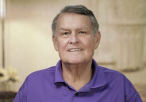 Don the dental implant patient in Slidell, LA
