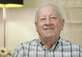 Larry the dental implant patient in Slidell, LA